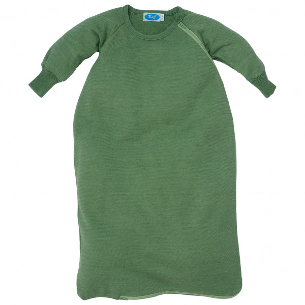 Reiff - Kid's Schlafsack Frottee mit Arm - Kinderschlafsack Gr 50/56;62/68;74/80 62/68,Apfel Blau;Oliv 301703
