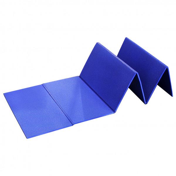 Basic Nature - Isomatte Faltbar - Isomatte Gr 180 x 50 x 0,8 cm Blau/Lila 810560