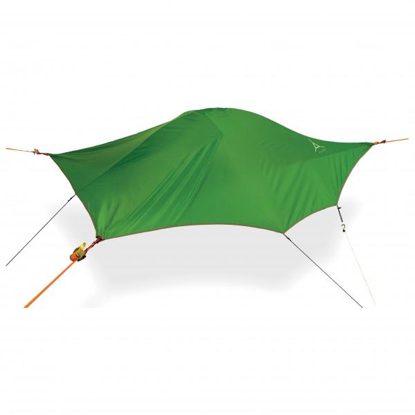 Tentsile - Flite+ - 2-man tent size 3,5 x 3,5 x 2,7 m, green/white
