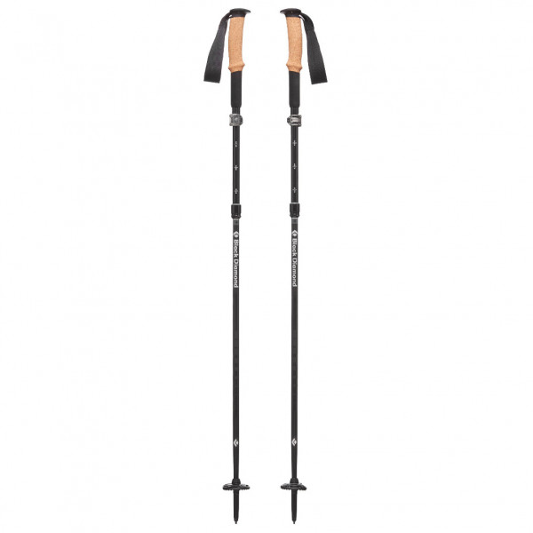 Black Diamond - Alpine Flz - Walking Poles Size 125 Cm  Carbon