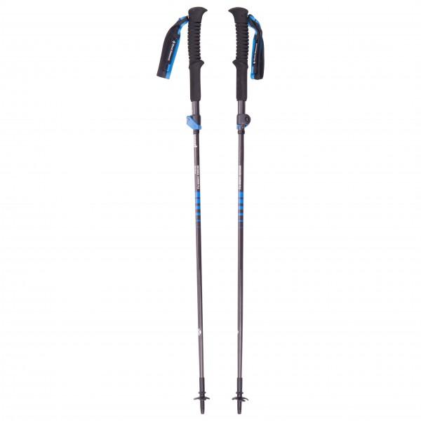Black Diamond - Distance Carbon FLZ - Trailrunning Stöcke Gr 110 cm blau BD11220400001101