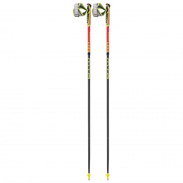 Leki - Micro Trail Race - Trailrunning Stöcke Gr 110 cm neonrot / neongelb 6492587110