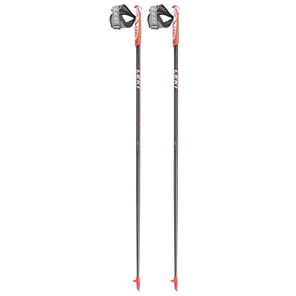 Leki - Flash Carbon - Nordic Walking Poles Size 100 Cm  Dunkelanthrazit /white