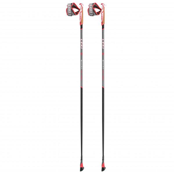 Leki - Smart Flash - Nordic Walking Poles Size 130 Cm  Black/white