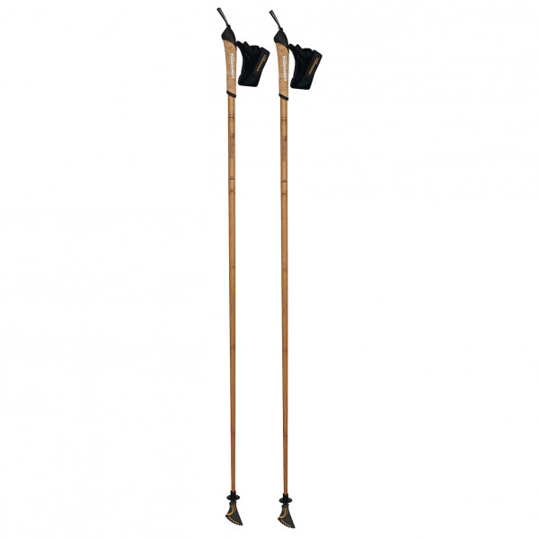 Komperdell - Nordic Walking Carbon Bamboo - Nordic Walking Stöcke Länge 105 cm bamboo 1482220-10