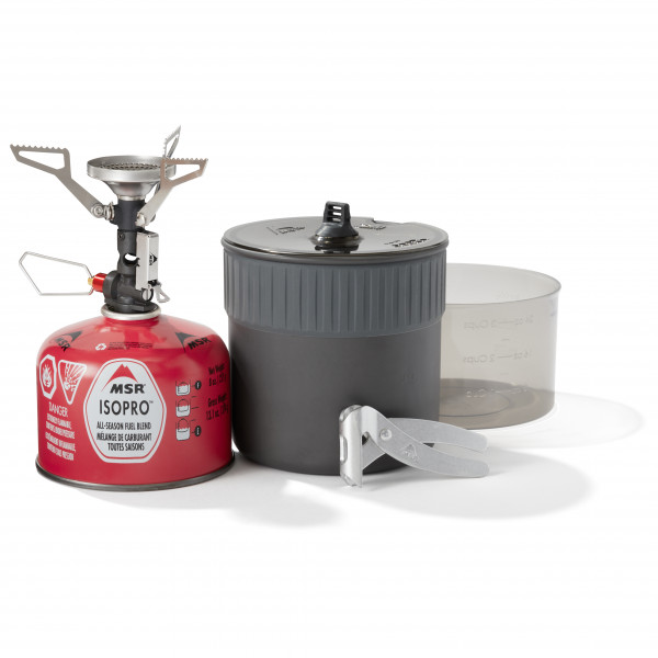 Msr - Pocketrocket Deluxe Stove Kit - Gas Stove Grey
