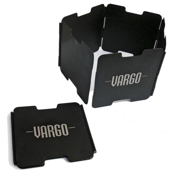 Vargo - Aluminium Windschutz - Windschutz schwarz 050101