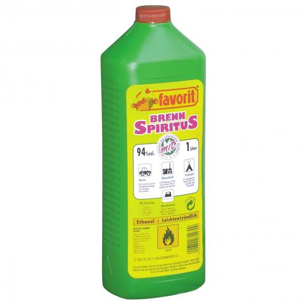 Favorit - Brennspiritus Gr 1000 ml grün