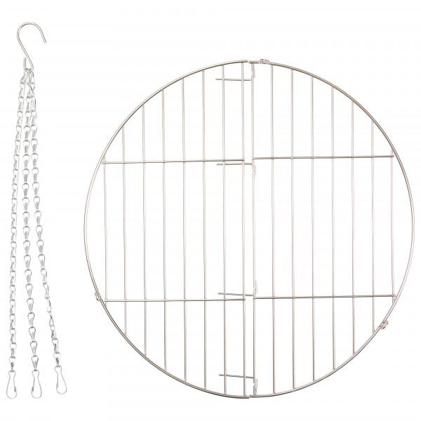 Eagle Products - Grillrost für Lagerfeuer Dreibein Gr 38 cm edelstahl ST503