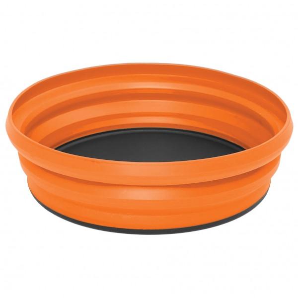 Sea to Summit - X-Bowl - faltbare Schüssel Gr 650 ml orange;rot AXBOWLBL