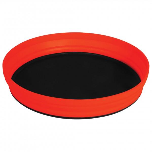 Sea to Summit - X-Plate - faltbarer Teller Gr 1170 ml rot/schwarz AXPLATERD