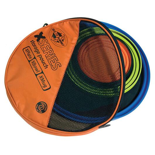 Sea to Summit - X-Set (3-teilig) - Geschirrset Gr One Size orange/schwarz/braun AXSET3