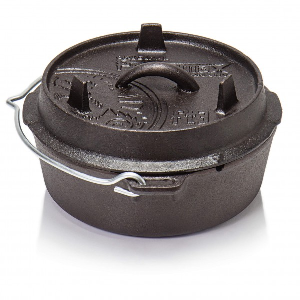 Petromax - Feuertopf - Topf Gr 1,6 l - ft3 schwarz/grau 402409