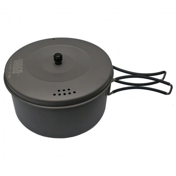 Vargo - Titan Topf - Topf Gr 1,3 l grau/schwarz 050081