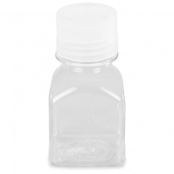Nalgene - Quader Gr 125 ml transparent /weiß 076480
