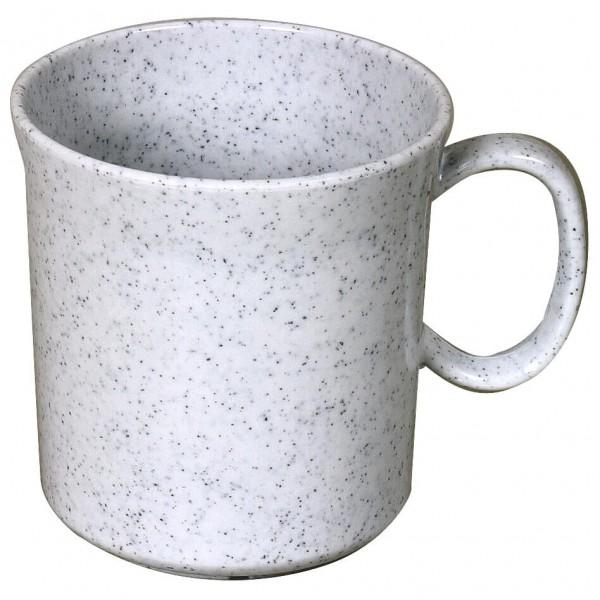 Waca - Melamin Henkelbecher - Geschirr Gr 400 ml grau 391300