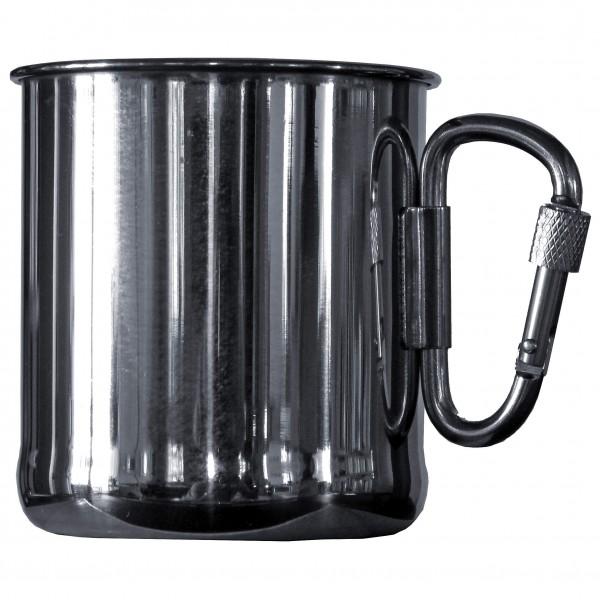 Basic Nature - Thermobecher Karabiner Size 0 33 L  Black/grey