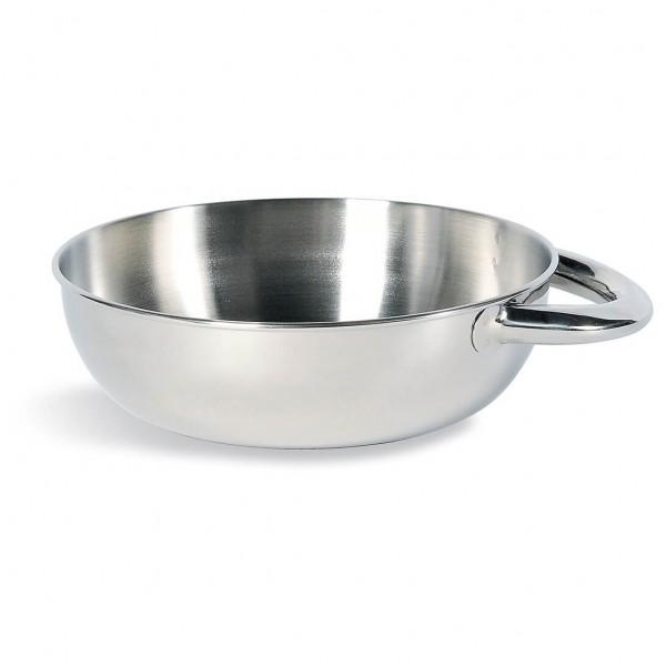 Tatonka - Bowl with Grip Gr 15,5 cm;18 cm chrome