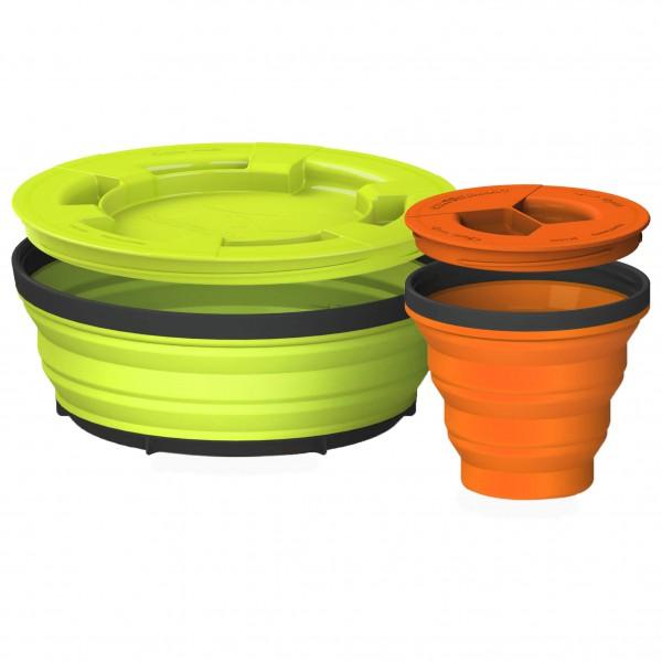 Sea to Summit - X-Seal & Go Set - Essensaufbewahrung Gr S grün/orange