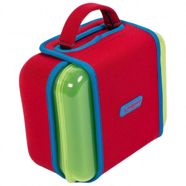 Nalgene - Lunchbox Buddy - Food Storage Size One Size  Red/green