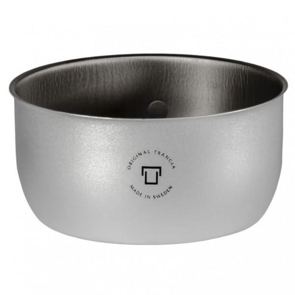Trangia - Topf 1,0 L für Trangia 27 Duossal - Topf Gr 1 l - 15 cm / 145 g grau/schwarz 602717