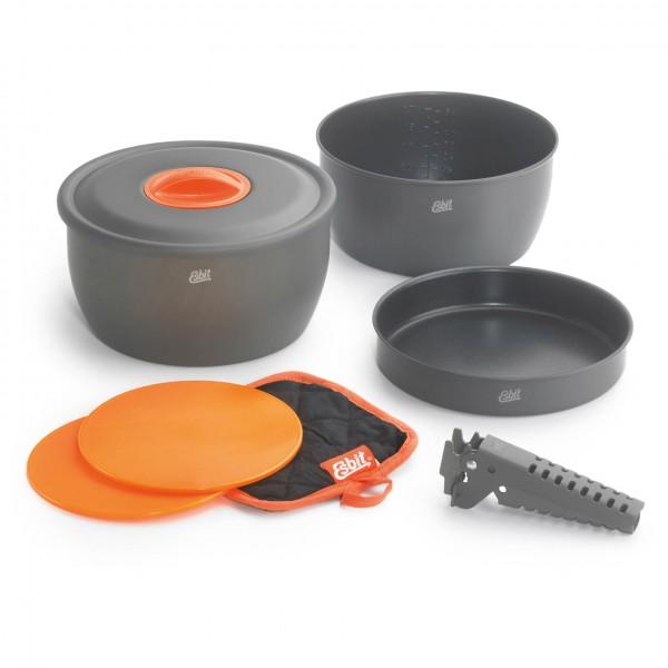 Esbit - Topfset CW2500NS - Topf grau/schwarz 410008