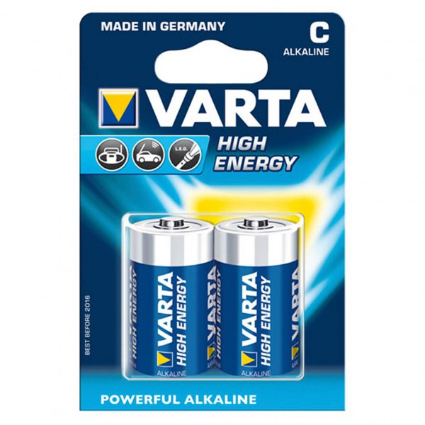Varta - High Energy C Babyzelle 2er Pack Gr 1,5 Volt 321002