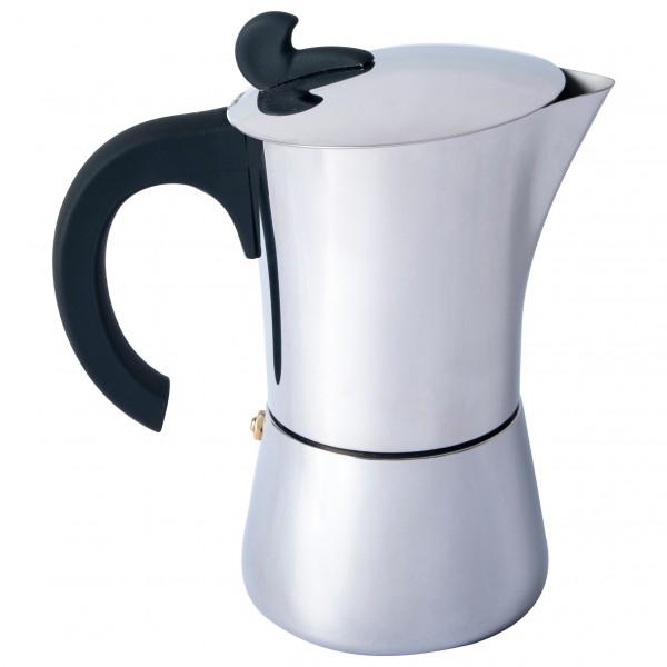 Basic Nature - Espresso Maker Edelstahl Gr 4 Tassen;6 Tassen;9 Tassen 633011