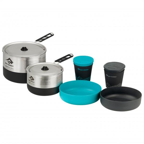 Sea to Summit - Sigma Cookset 2.2 - Topf Gr One Size grau/schwarz/türkis APOTSIGSET2.2