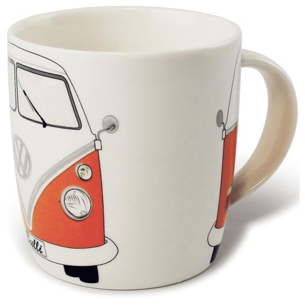 VW Collection - VW T1 Bus Kaffeetasse Gr 370 ml weiß/grau BUTA08