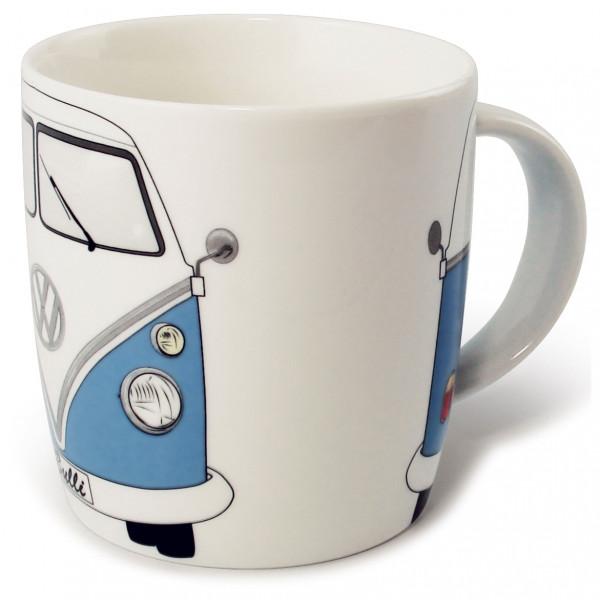 VW Collection - VW T1 Bus Kaffeetasse Gr 370 ml grau/rot/weiß;weiß/grau BUTA06