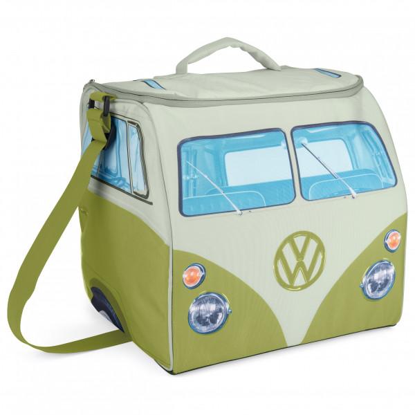 VW Collection - VW T1 Bus Kühltasche - Kühlbox Gr 30 x 30 x 30 cm grau/weiß OL0185-GN