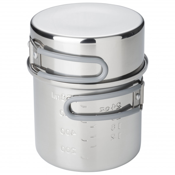 Esbit - Edelstahl Topf - Topf Gr 1000 ml grau PT1000ST