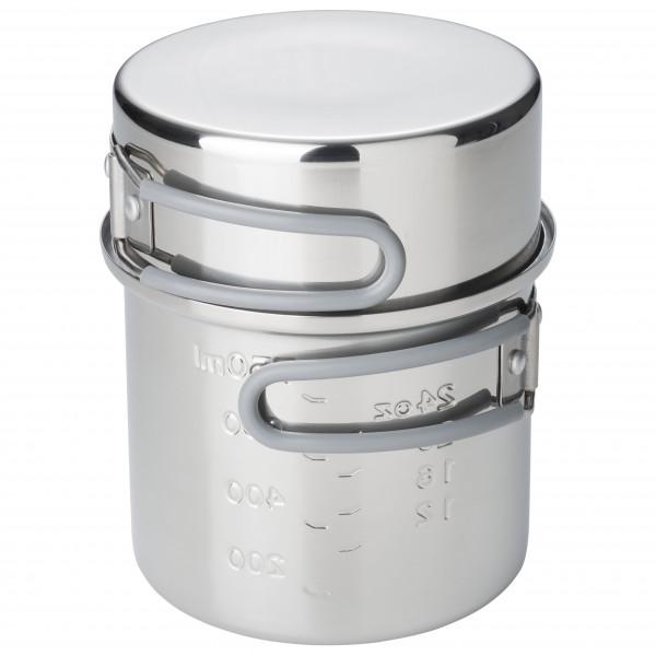 Esbit - Edelstahl Topf - Topf Gr 1000 ml grau PT625ST