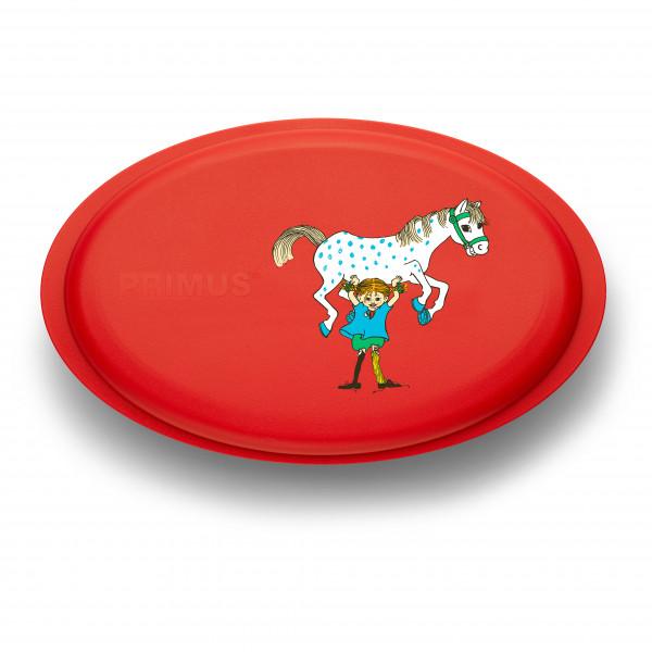 Primus - Meal Set Pippi - Geschirr-Set Gr 17,7 x 4,1 x 2 cm - 45 g rot/grau P740860