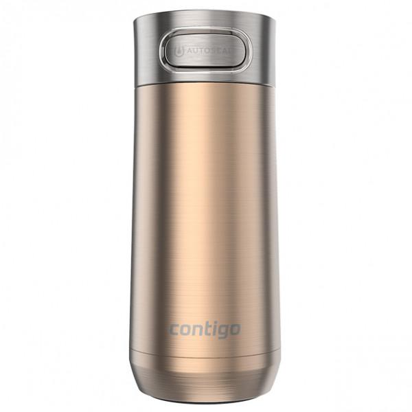 Contigo - Luxe Autoseal - Isolierflasche Gr 360 ml grau/beige 2108345