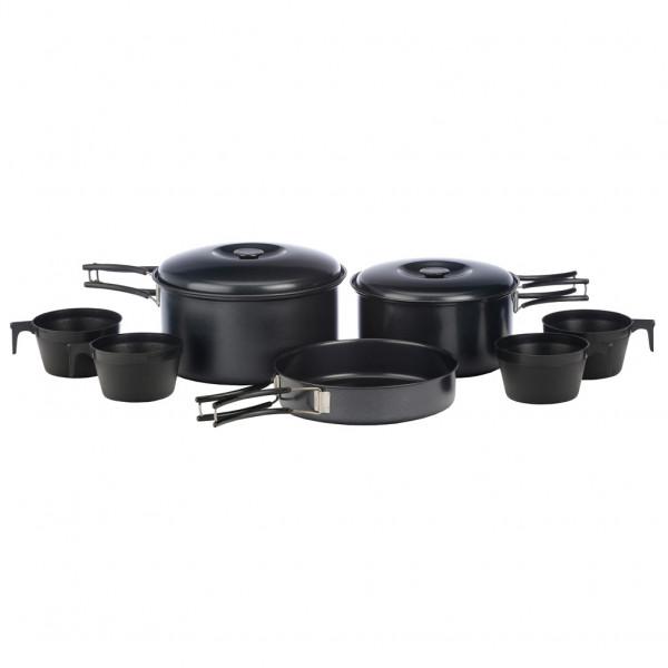 Vango - 4 Person Non-stick Cook Kit - Pot Size One Size  Black/grey