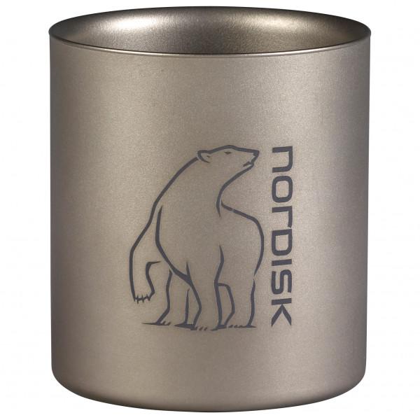 Nordisk - Titanium Mug Double-Wall - Becher grau 119010