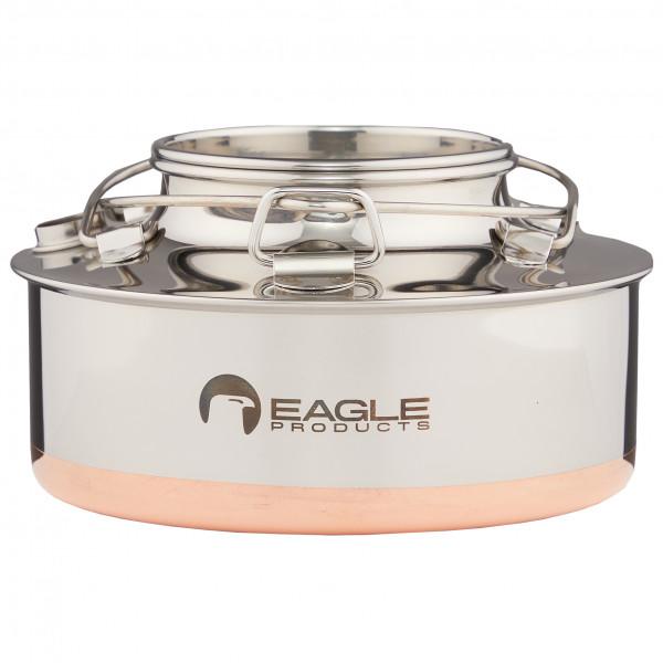 Eagle Products - Kesselkanne - Topf Gr 0,7 l weiß/grau ST200