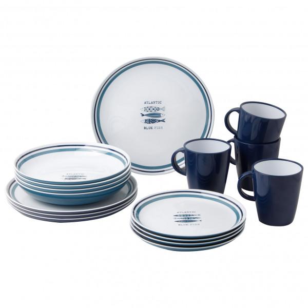 Brunner - Lunch Box - Geschirr-Set Gr 16 Pieces grau/weiß/schwarz 0830155N.C3H