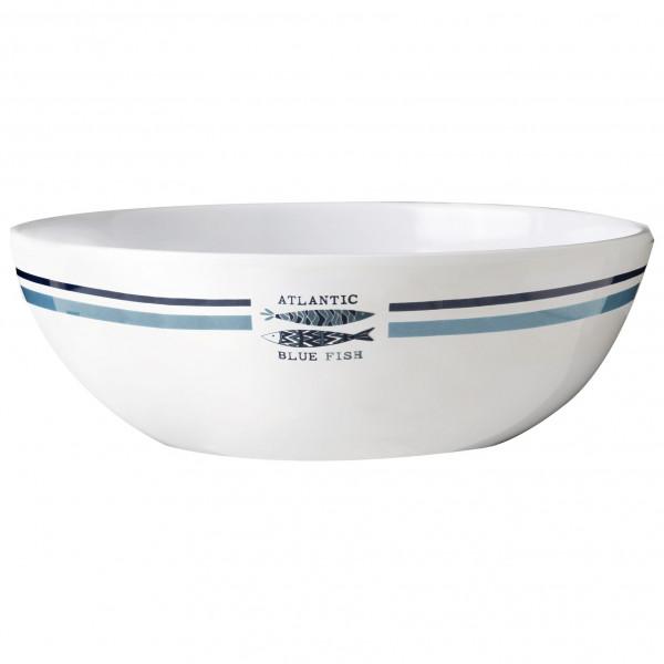 Brunner - Salatschüsssel - Salad Bowl - Schüssel Gr ø 24 cm grau/weiß 0830030N.C3H