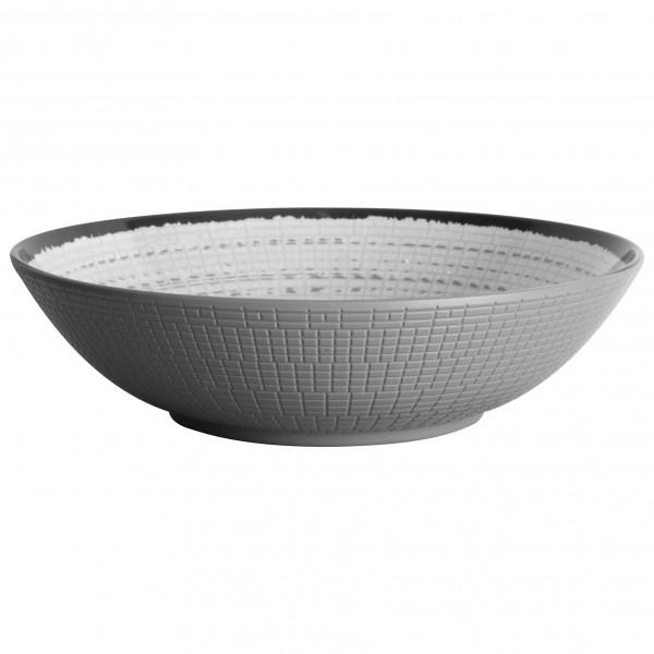Brunner - Salatschüsssel - Salad Bowl - Schüssel Gr ø 24 cm grau/schwarz 0830030N.C7X