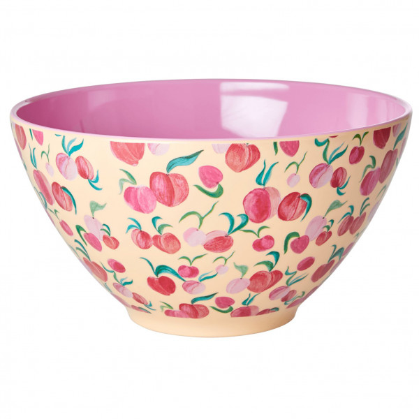Rice - Melamine Salad Bowl - Bowl Sand/pink