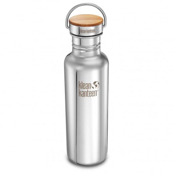 Klean Kanteen - Classic Reflect Trinkflasche Gr 532 ml;532ml;800 ml;800ml grau/weiß;grau