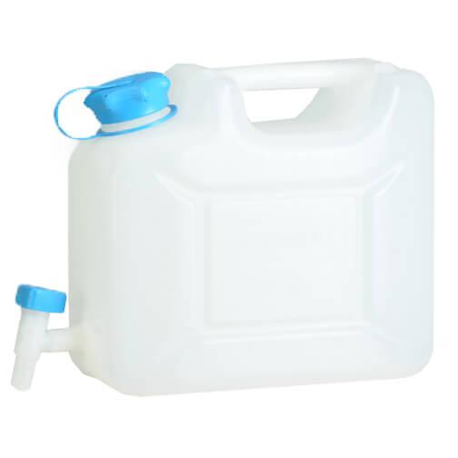 Wasserkanister Profi - Wasserträger Gr 22 Liter transparent