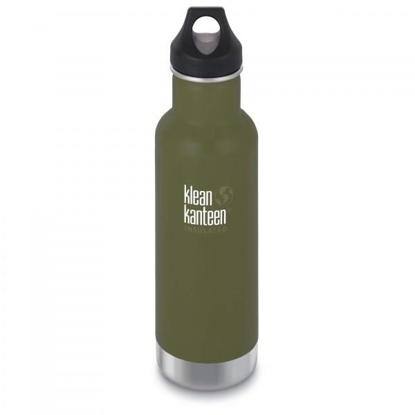 Klean Kanteen - Classic Vacuum Insulated Isolierflasche Gr 592 ml grün