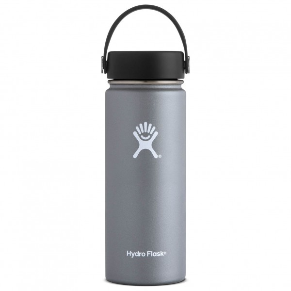 Laubsdorf Angebote Hydro Flask - Wide Mouth with Flex Cap Isolierflasche Gr 532 ml grau