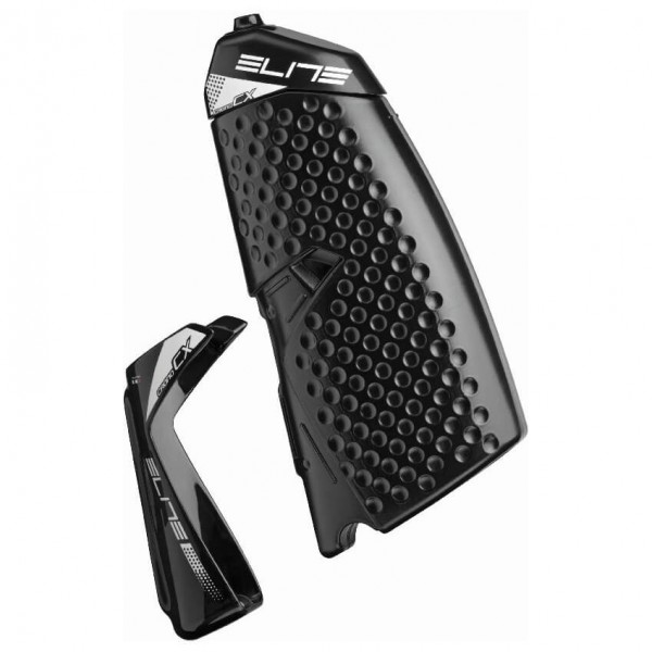 Elite - Flasche Crono CX Kit Carbon - Bidón para bicicleta size 500 ml, negro/gris