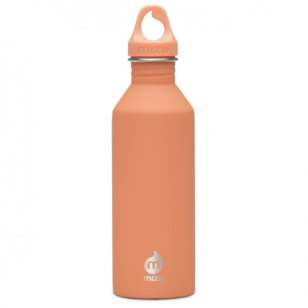 Mizu - M8 Trinkflasche Gr 800 ml orange/beige