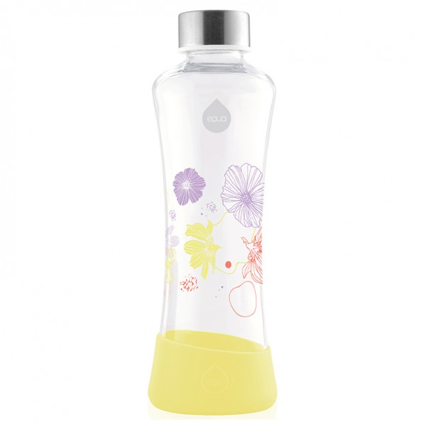 #Equa – Flowerhead Collection – Trinkflasche Gr 550 ml weiß/rosa;weiß/gelb;weiß/orange#